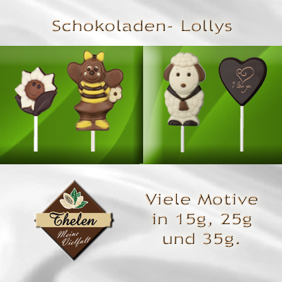 Thelens Schoko-Lollys